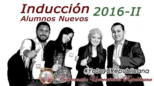 Inducción nuevos 2016B
