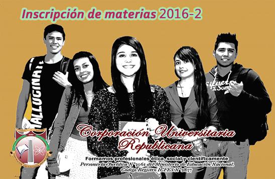 Poster estudiantes Inscripciones 2016-2