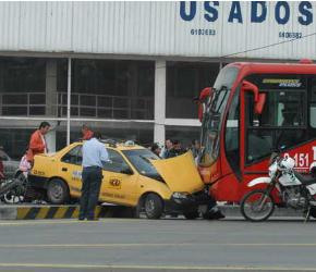 Accidente-Bogóta RS