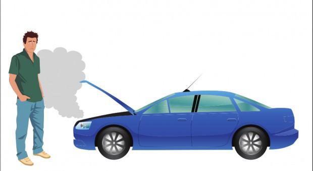 Carro varado, foto vía web lapatria