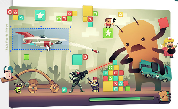 Crear videojuegos, foto vía web Taringa
