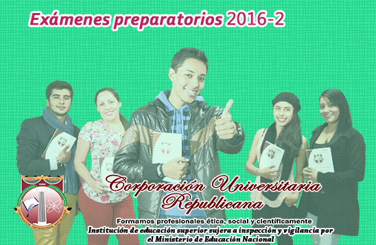 Preparatorios 2016B