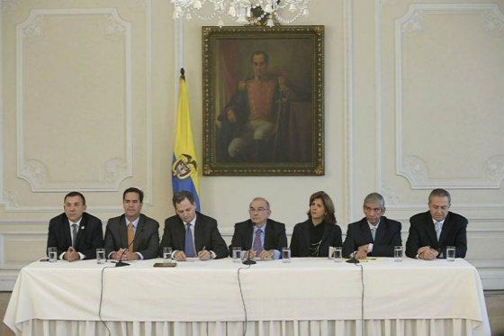 Presidencia grupo negociador