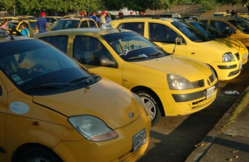 taxistas paro lujo placa app Bogotá