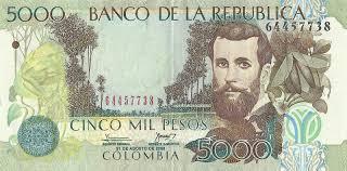 Billete de $5.000 pesos foto vía Google
