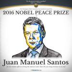 Presidente colombiano Juan Manuel Santos gana premio Nobel de la Paz 2016