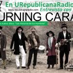 La  Burning Caravan en entrevista con URepublicanaRadio.