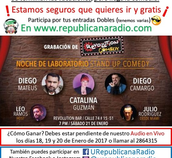 comedia revolutions 21 de enero
