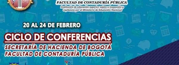 Ciclo de Conferencias Facultad de Contaduría Pública