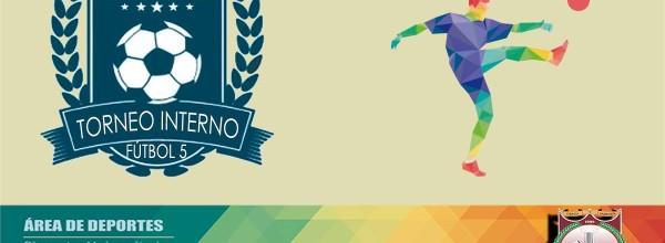 Programación fecha 5, grupos, goleadores y todo sobre el Campeonato Interno de Fútbol 5