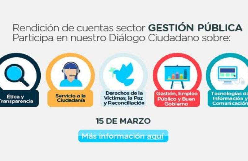 Rendición de cuentas 2017, foto vía web Alcaldía de Bogotá