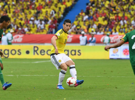 Selección Colombia, foto vía AFP