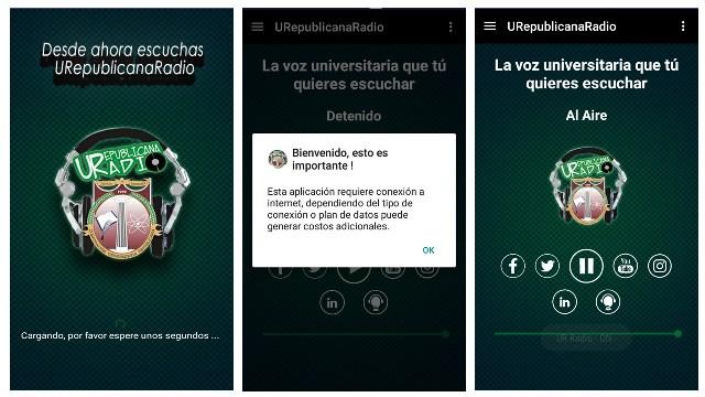 imagen app UR Radio