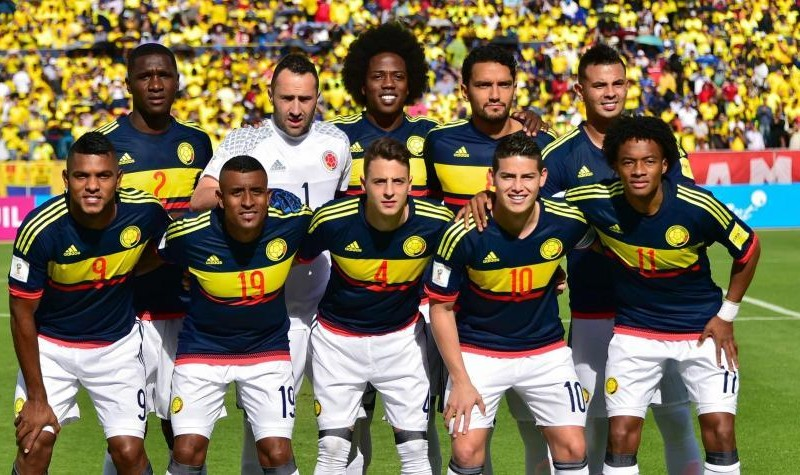 ranking fifa amistoso Camerún Colombia camiseta escalafón