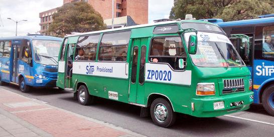 sitp Se aumentaría el pasaje de los buses en Bogotá