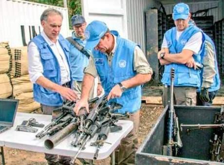 armas dejación ONU