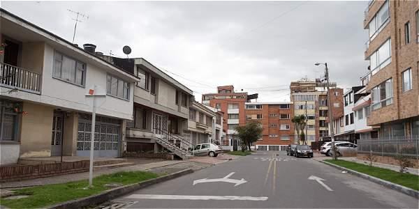 Ojo as marcan las casas en bogot para luego robarlas for Barrio ciudad jardin sur bogota