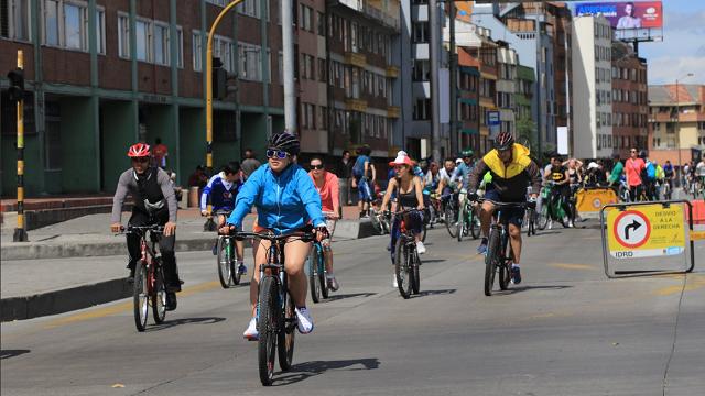 ¡Mañana! Celebre el día Mundial del Turismo con un CicloPaseo en Bogotá Ciclovía