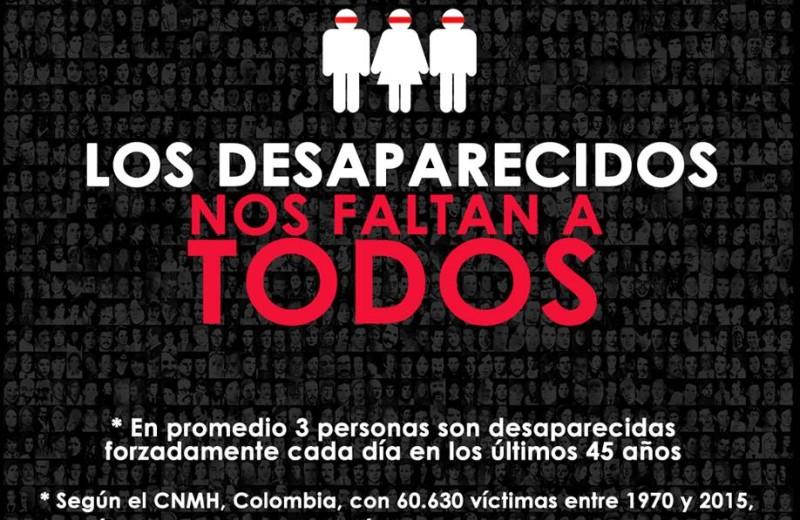 Hoy 30 de agosto Día Internacional de las Víctimas de Desapariciones Forzadas, imagen de URepublicanaRadio