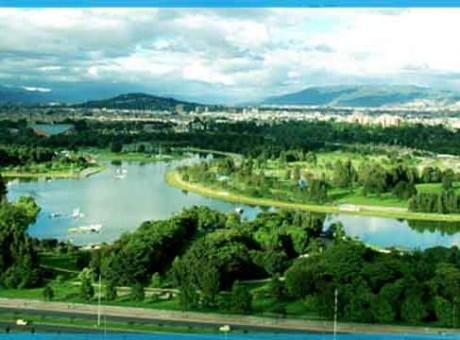 Cerrado Parque Simón Bolívar