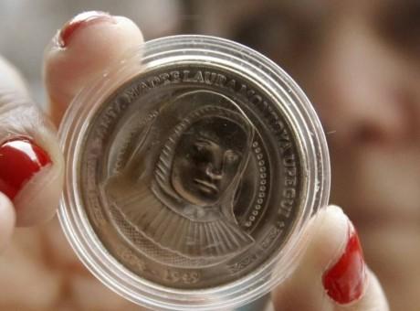 Banco de la República presenta la nueva moneda de $5.000 pesos en Colombia