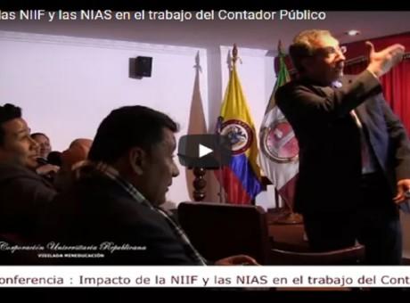 El impacto las NIIF y las NIAS en el trabajo del Contador Público - Corporación Universitaria Republicana