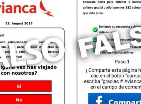 Tiquetes Falso Viajes Engaño Avianca URepublicanaRadio, foto vía El Tiempo