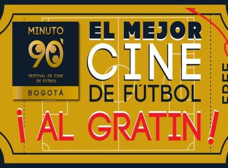 Este fin de semana disfruta del Festival de Cine de Fútbol en Bogotá gratuitamente