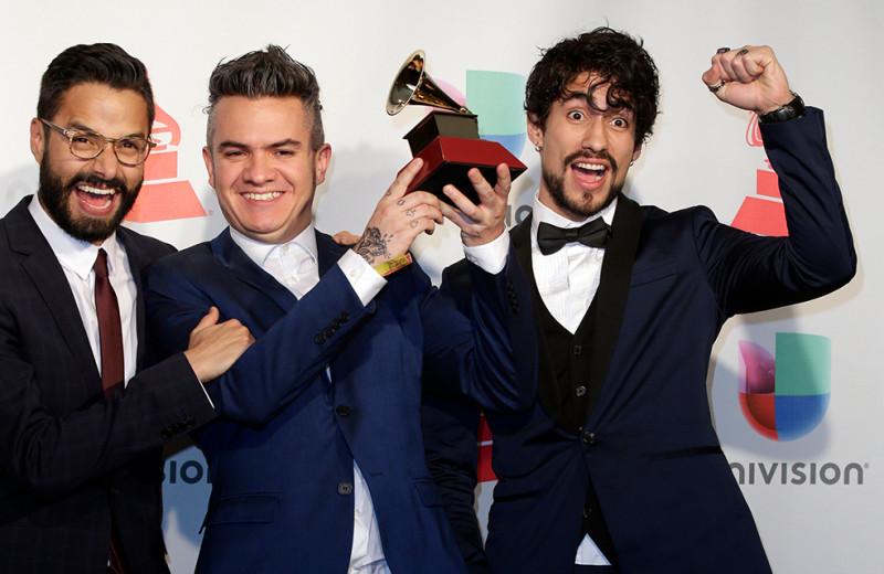 Diamante Electrico ganadores de dos Grammy Latino, foto vía El Espectador