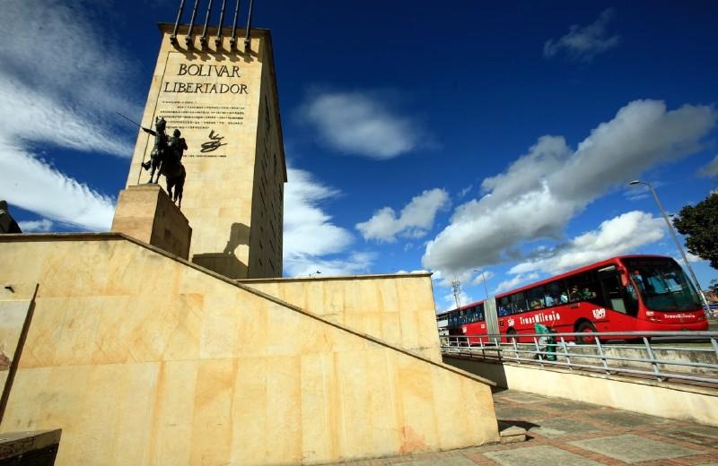Laberinto Monumento de Los Héroes, foto vía El Espectador - Radio Universitaria URepublicanaRadio