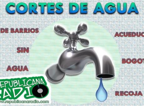 Barrios sin Agua en Bogotá lista Soacha Acueducto de Bogotá Radio Universitaria URepublicanaRadio