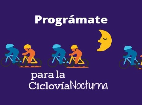 Ciclovía Nocturna programación 2017