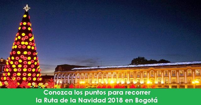 Conozca los puntos para recorrer la Ruta de la Navidad 2018 en Bogotá radio universitaria urepublicanaradio-foto-vía-web-Alcaldía-de-Bogotá