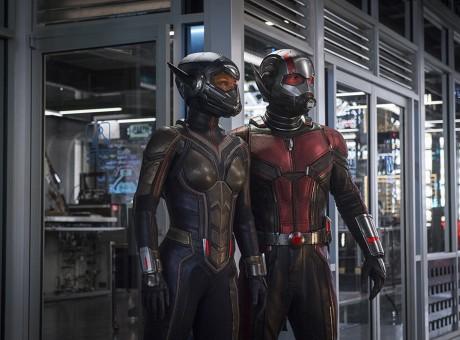 El Hombre Hormiga y La Avispa, foto vía El Espectador