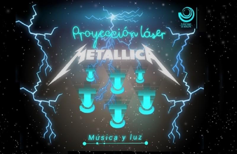 Metallica en Febrero 2018 en el Planetario de Bogotá