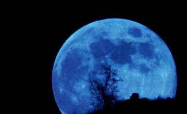 Superluna azul 31 de enero de 2018, foto vía web Las Provincias