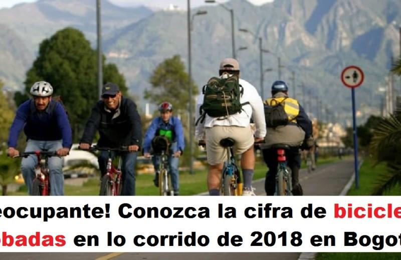 ¡Preocupante! Conozca la cifra de bicicletas robadas en lo corrido de 2018 en Bogotá foto vía web Pulzo