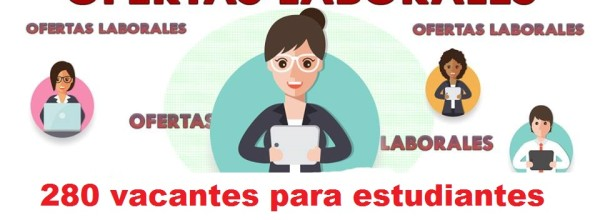 280 vacantes para estudiantes universitarios en Bogotá – abril 2018