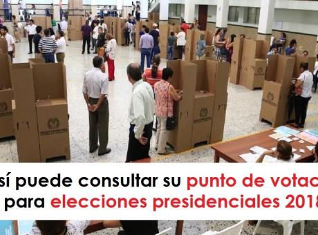 Así puede consultar su punto de votación para elecciones presidenciales 2018 radio universitaria urepublicanaradio