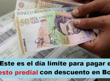 Este es el día límite para pagar el impuesto predial con descuento en Bogotá, radio universitaria urepublicanaradio