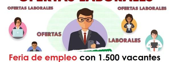 Feria de empleo con 1.500 vacantes para trabajar en Bogotá – Abril 2018