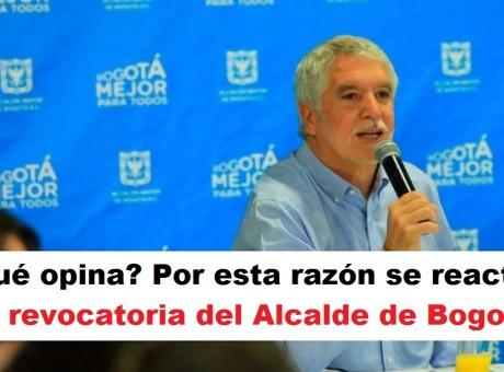 Por esta razón se reactiva la revocatoria del Alcalde de Bogotá, radio universitaria urepublicanaradio