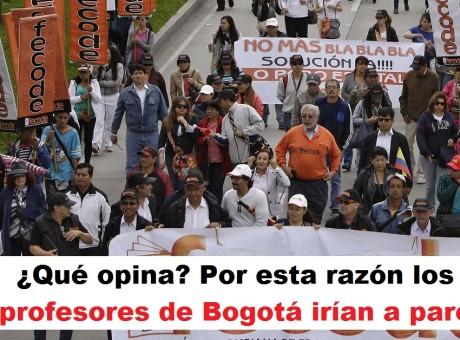 profesores Bogotá paro Por esta razón los profesores de Bogotá irían a paro, foto vía semana.com radio universitaria urepublicanaradio
