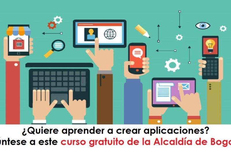 Quiere aprender a crear aplicaciones Apúntese a este curso gratuito de la Alcaldía de Bogotá - radio universitaria urepublicanaradio