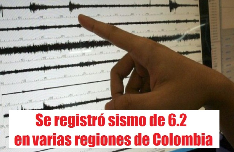 Se registró sismo de 6.2 en varias regiones de Colombia, radio universitaria urepublicanaradio