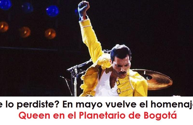 Te lo perdiste En mayo vuelve el homenaje a Queen en el Planetario de Bogotá radio universitario urepublicanaradio foto vía web varievo