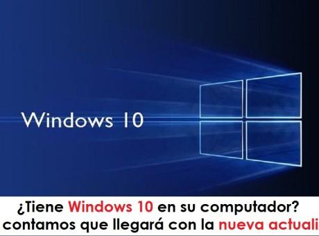 Tiene Windows 10 en su computador Aquí le contamos que llegará con la nueva actualización, radio universitaria foto vía web My Computer