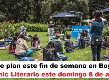 plan este fin de semana Picnic Literario este domingo 8 de abril en Bogotá