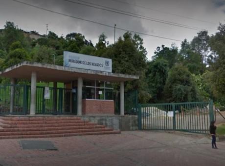 Parque Mirador de los Nevados - Los mejores parques de Bogotá radio universitaria urepublicanaradio, foto vía Google Maps los mejores lugares naturales para visitar en Bogotá
