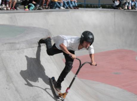 Parque del Deporte Extremo Lourdes Guavio - Los mejores parques de Bogotá - radio universitaria urepublicanaradio, foto vía IDRD
